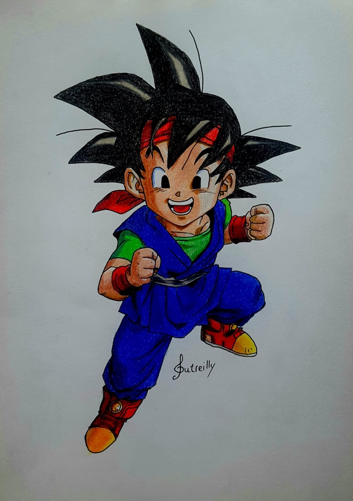 Dragon Ball by audreyD